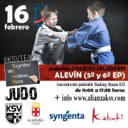 CONVIVENCIA ALEVÍN, 16 DE FEBRERO - DOBLE SESIÓN