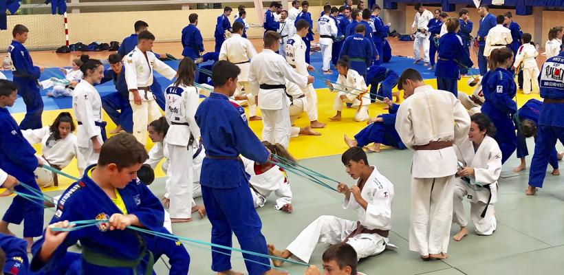 STAGE CIUDAD DE ALMERÍA, 146 JUDOCAS